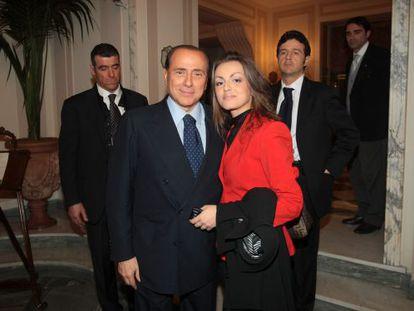Silvio Berlusconi y Francesca Pascale, en una imagen del pasado diciembre.