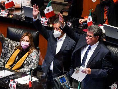Los senadores aprueban la Ley Federal de Revocación de Mandato en la Ciudad de México.