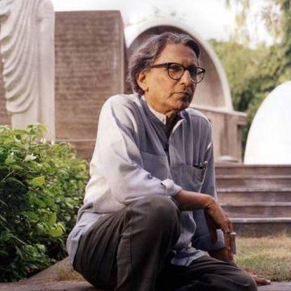 El arquitecto indio Balkrishna Doshi.