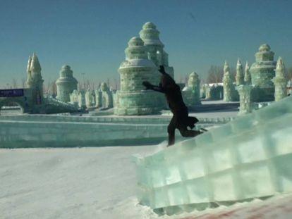 Una demostración de 'free running' que te va a dejar helado
