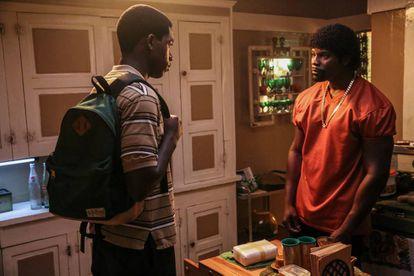 Damson Idris y Amin Joseph en 'Snowfall'.