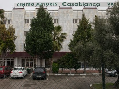 El centro de mayores Casablanca Valdesur, en Valdemoro, un municipio en el sur de la región de Madrid.
