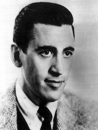J.D. Salinger, autor de <i>El guardián entre el centeno</i>, en una imagen de juventu