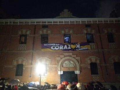 La Ingobernable ha okupado un edificio en la calle de Alberto Bosch.
