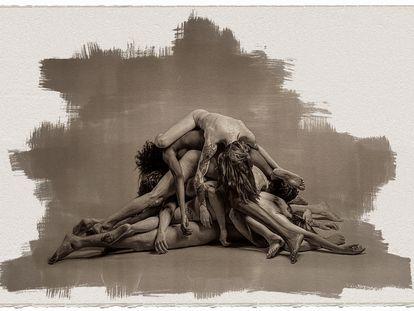 'No te veré mañana, una de las obras que pueden verse en la exposición 'El pincel del hereje'.