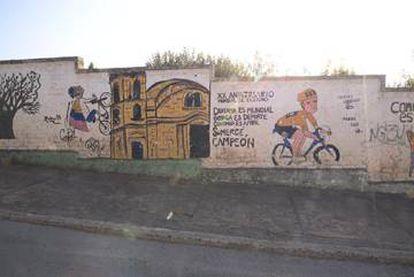 Mural en las calles de Duitama.