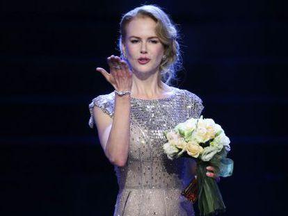 La actriz Nicole Kidman, en el festival de cine de Shanghái este junio.