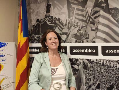 La presidenta de la ANC, Elisenda Paluzie.