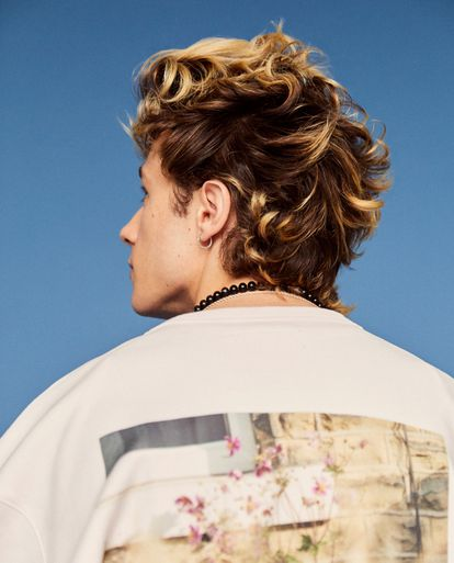 Camiseta con estampado floral de Simone Rocha x H&M.