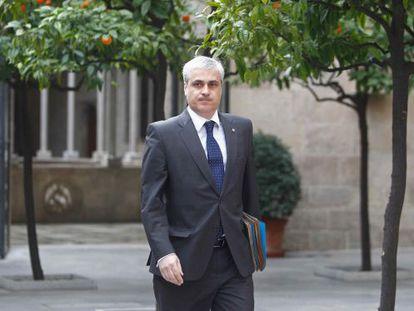 El exgerente de Convergència Democràtica de Catalunya (CDC) Germá Gordó, en una imagen de archivo.
