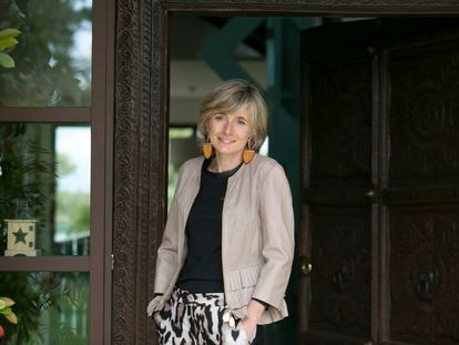 María Ángeles León, presidenta de Open Value Foundation en la sede de la organización.