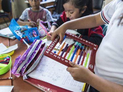 Escuela primaria en Ciudad de México.