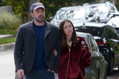 Ben Affleck y Ana de Armas, en Los Ángeles, a finales de marzo.