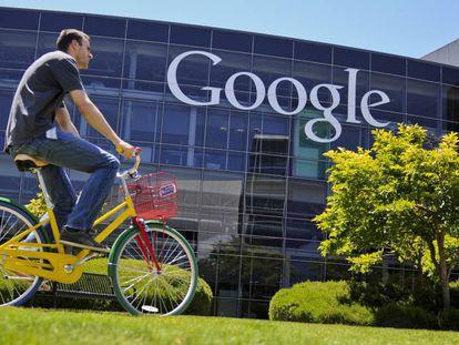 El campus de Google en Silicon Valley, Estados Unidos.