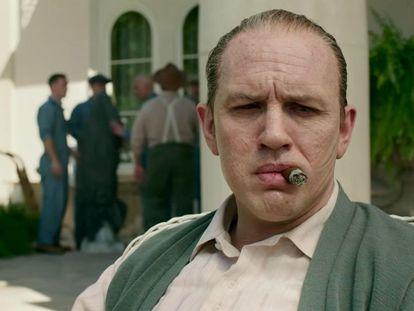 Tom Hardy, en 'Capone'.