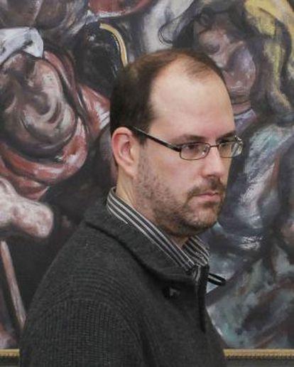 Martiño Noriega, coordinador de Anova y alcalde de Teo