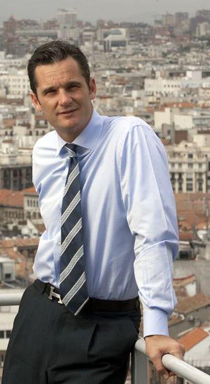 Iñaki Urdangarin, en Madrid en 2005.