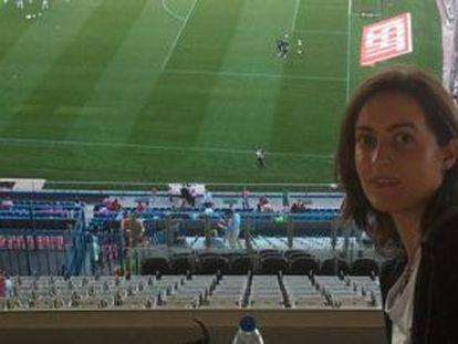 Lorena Gallego Fernández, en una imagen de su cuenta de Facebook.
