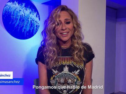 Marta Sánchez versiona 'Pongamos que hablo de Madrid', de Joaquín Sabina.