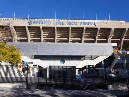 El estadio Rico Pérez.