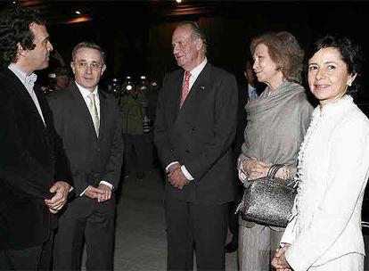 Sergio Fajardo, Álvaro Uribe, don Juan Carlos y doña Sofía, y Lina María  Moreno | Cultura | EL PAÍS