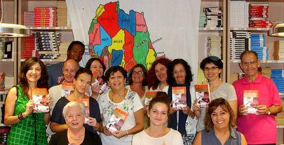 Participantes del club de lectura de Albacete, Baobab.