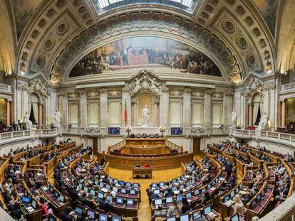 El parlamento portugués.