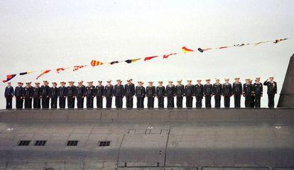 El submarino Kursk en una imagen de archivo.