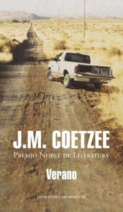 Portada de la novela 'Verano', de J.M. Coetzee.