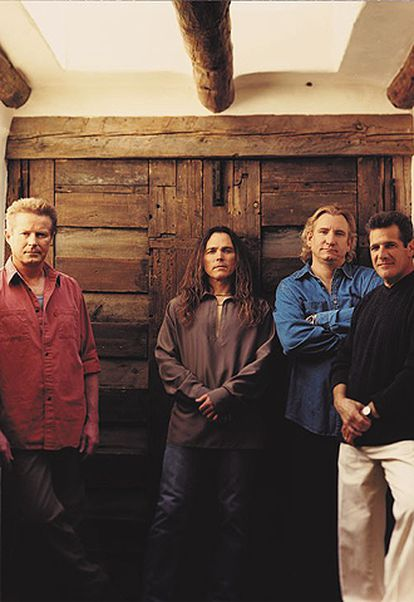 La formación actual de Eagles, en una foto de promoción.