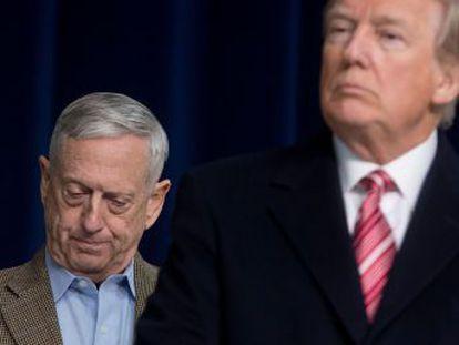 El presidente llevaba tiempo distanciado del general Jim Mattis,  Perro furioso , un gran detractor del repligue inmediato de las tropas en territorio sirio.