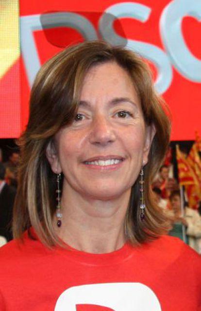 Montserrat Capdevila, diputada del PSC en el Parlament.
