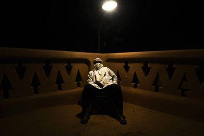 Mohamed es el nombre ficticio del jefe de una organización de traficantes de personas que opera en el Sáhara.