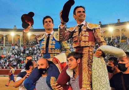 Victorino, Pinar y Serrano… ¡Qué gran tarde de toros!   Cultura   EL PAÍS