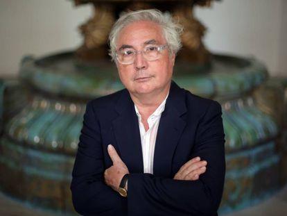 El sociólogo Manuel Castells, en el Círculo de Bellas Artes de Madrid, en una imagen de 2015.