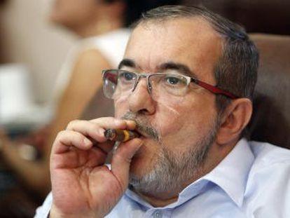 El líder del partido heredero de las FARC condena la deriva de Márquez y Santrich y defiende el proceso de paz   Es irreversible