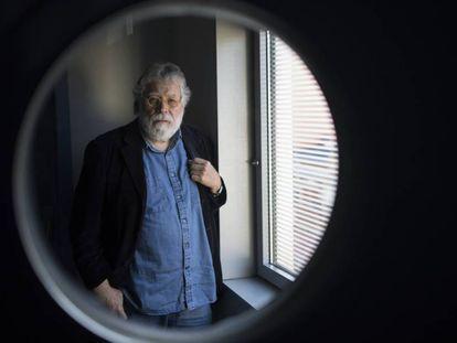 El periodista Joaquin Estefanía, el pasado jueves en Madrid.