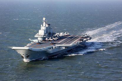 El portaviones chino 'Liaoning', en diciembre de 2016 durante unas maniobras en el Pacífico.
