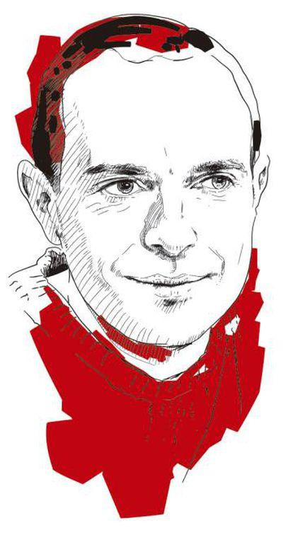 Luis Alegre, dibujado por Setanta.