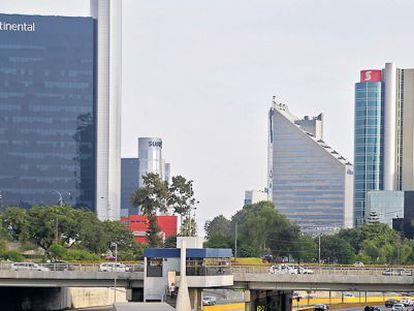 Vista de la sede del BBVA Continental en Lima.