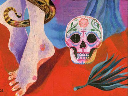 Detalle de la portada de 'Hot Sur', de Laura Restrepo.