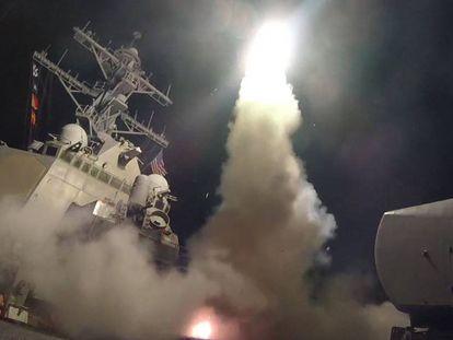 Estados Unidos lanza su primer ataque contra Siria