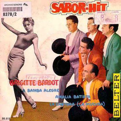 La famosa samba titulada <i>Brigitte Bardot</i> fue una de las canciones prohibidas por los censores.