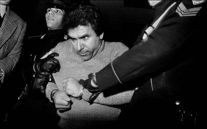 Arresto del capo mafioso Leoluca Bagarella (1980).