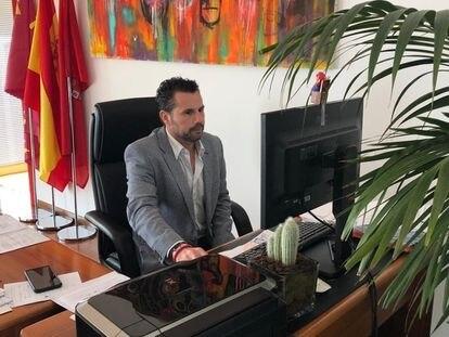 Mario Gómez, portavoz municipal de Cs y primer teniente de alcalde en Murcia.