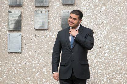 García Harfuch durante un acto oficial en diciembre del año pasado.