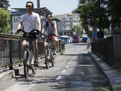 A pesar del alarmismo que generan los accidentes ciclistas, las bicis sufren 0,9 accidentes por cada 100.000 recorridos frente a los 1,3 de los vehículos