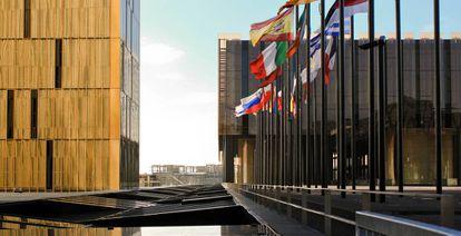 Sede del Tribunal de Justicia Europeo en Luxemburgo.