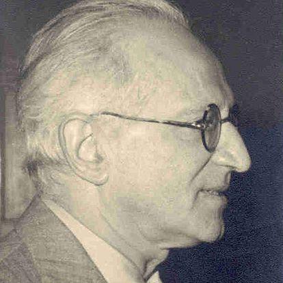 El escritor triestino Giani Stuparich, autor de <i>La isla.</i>