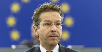 El ministro holandés de Finanzas y presidente del Eurogrupo Jeroen Dijsselbloem